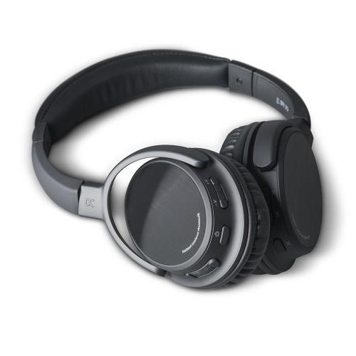Photive Wireless Bluetooth Headphones with Built-in Mic and Battery. Includes Case.