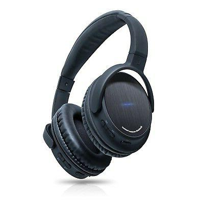 Photive Bluetooth Headphones Mic and 12 Hour Battery. Includes Travel Case.