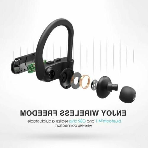 Mpow D7 Bluetooth Headphones Headsets Earbuds HD Sound
