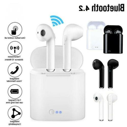 dual wireless bluetooth earphone earbuds for samsung