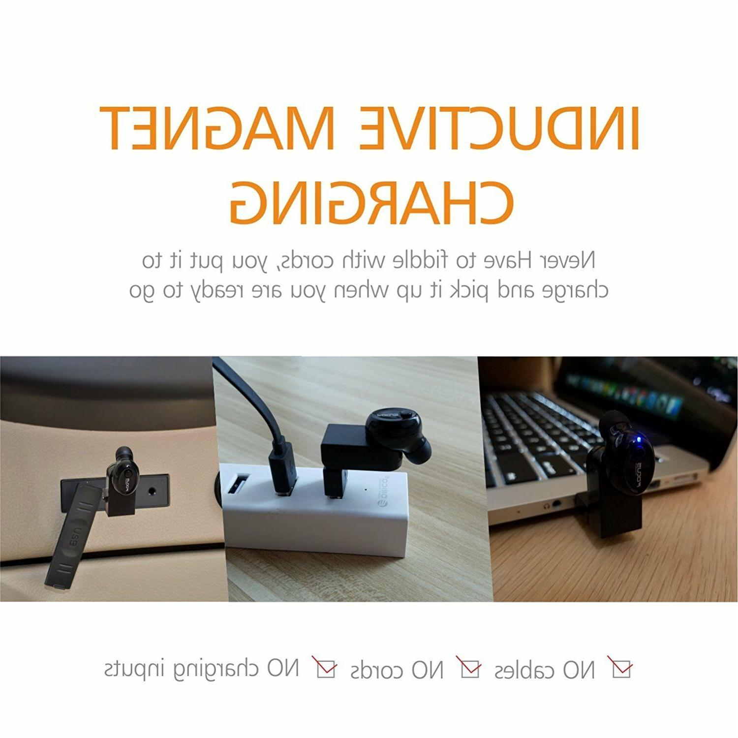 FOCUSPOWER F10 Earbud Smallest Wireless Invisible Headphone