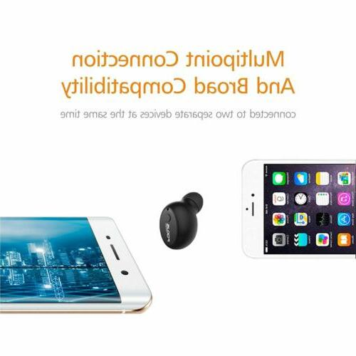F10 Mini Bluetooth Earbud Smallest Wireless Invisible Headph