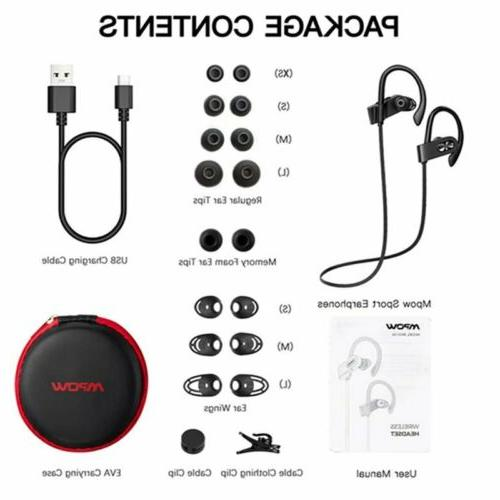 Upgrade Mpow 5.0 Earbuds Headphone Sport
