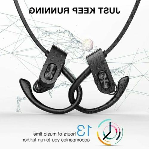 Upgrade Flame2 BT 5.0 Earbuds Headphone Wireless Sport stereo
