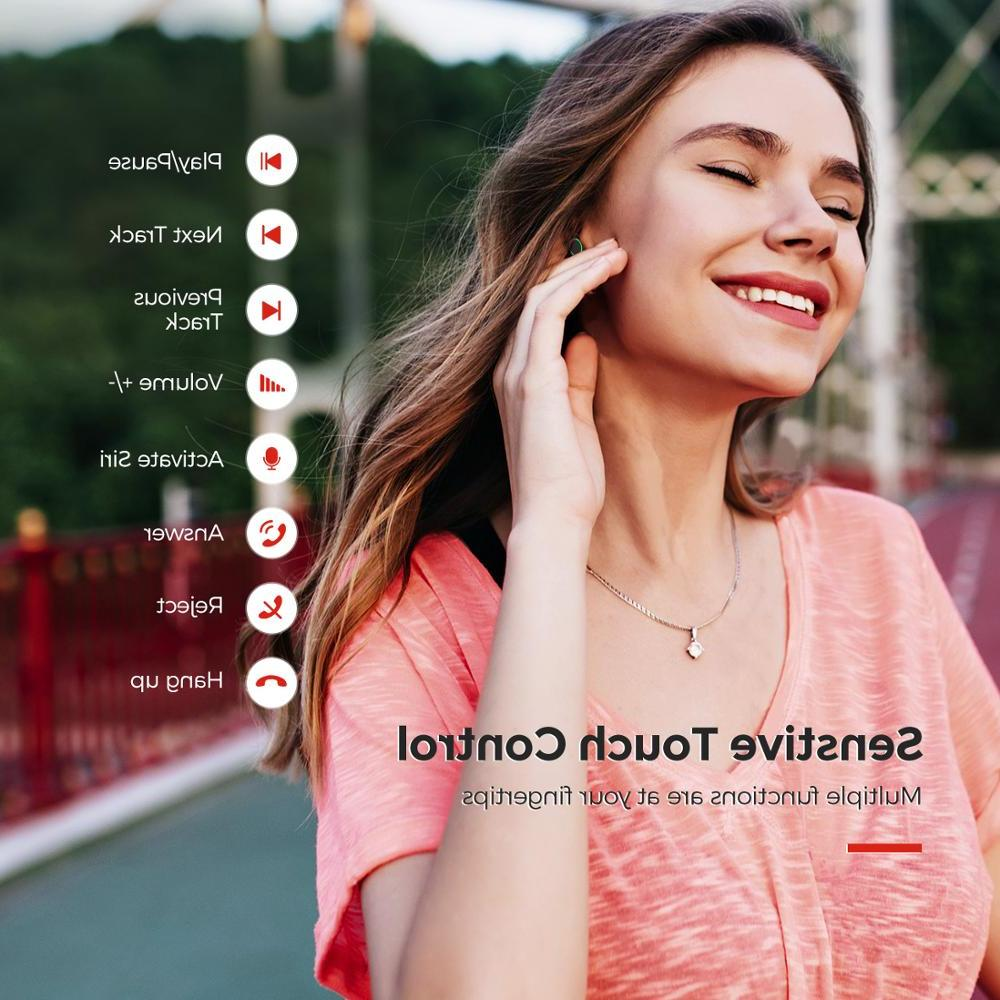 <font><b>Mpow</b></font> Wireless <font><b>Bluetooth</b></font> 5.0 Earphones ipx7 Time With Mic For