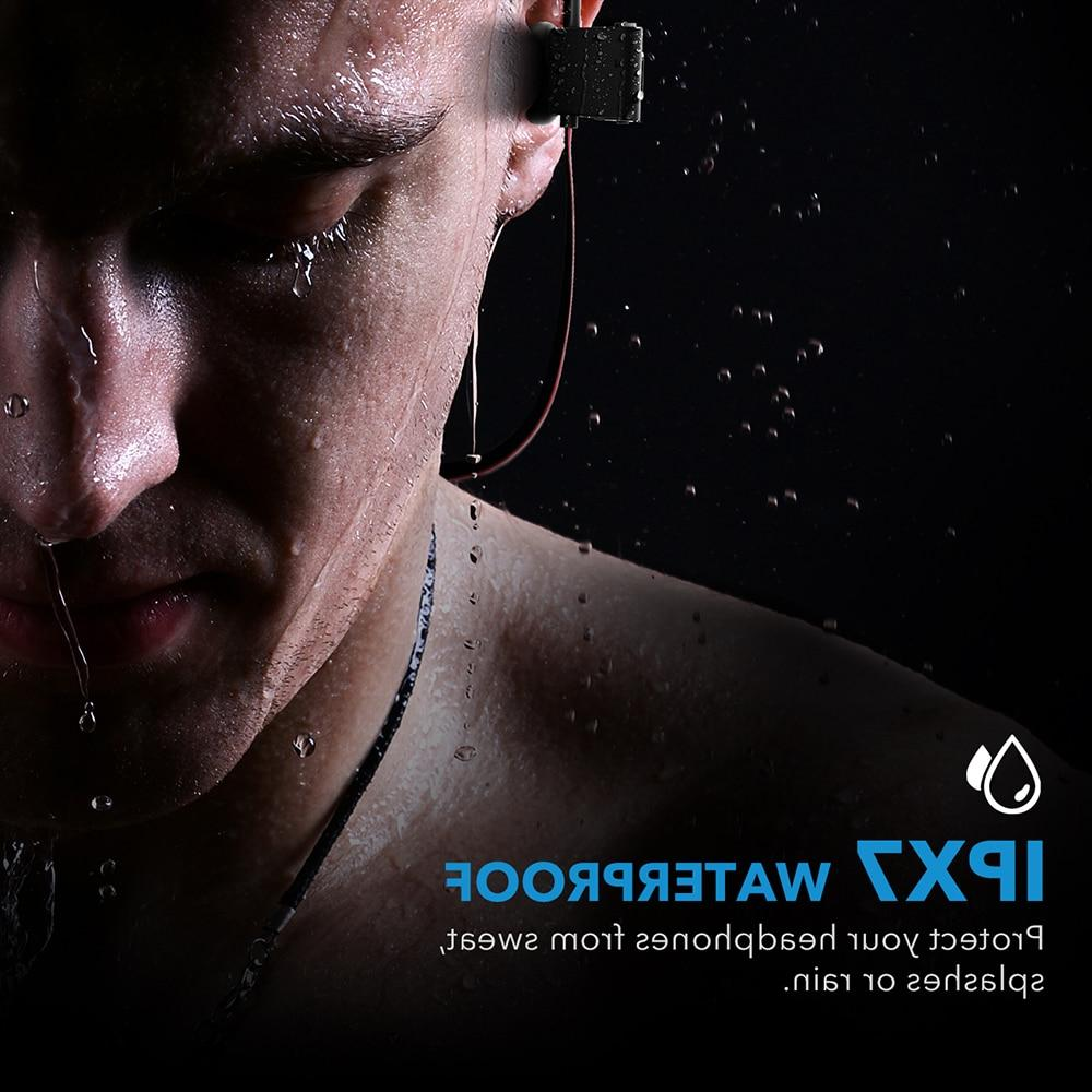 Mpow <font><b>Flame</b></font> <font><b>Bluetooth</b></font> IPX7 Earbuds Sport Earphones With Mic Case