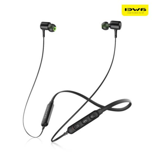 Awei Wireless Bluetooth Headphones Earbuds Microphone