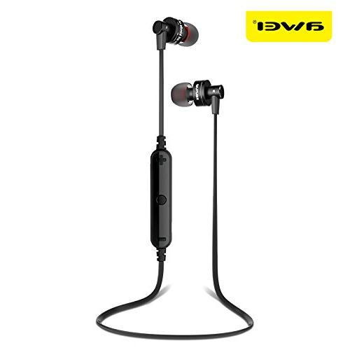 Golden Sport Wireless Bluetooth Earphone Stereo Earphone With For Phone