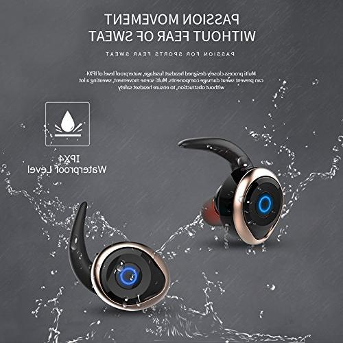 Golden T1 TWS Earphone Bluetooth Headset Double Cordless k Casque
