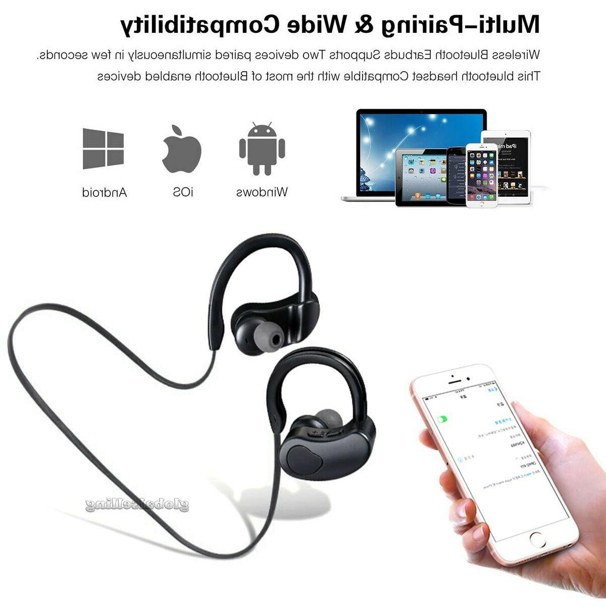 Wireless Earphone Earbuds Sport Android Universal Phone Models
