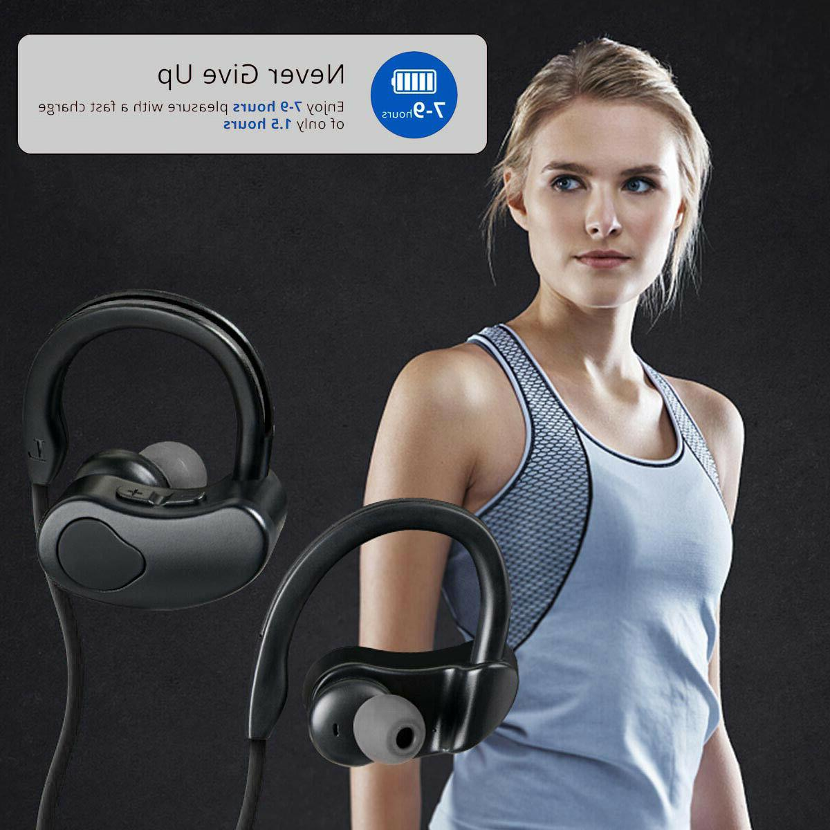 Sweatproof Headphones Sport Earbuds