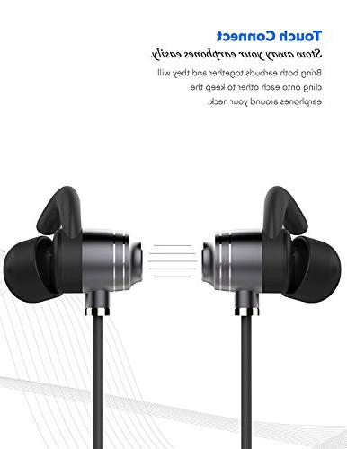 LG Headset IPX4 Waterproof with Mic Stereo Noise works with, Apple,