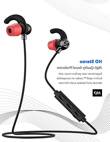 Bluetooth in-Ear Running Earbuds IPX4 Mic 6.0 with, Samsung,Google