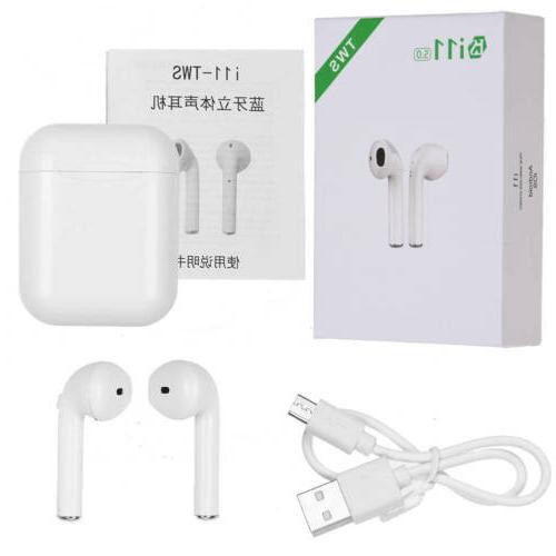 i11-TWS Wireless Bluetooth 5.0 Stereo Earbuds Earpods