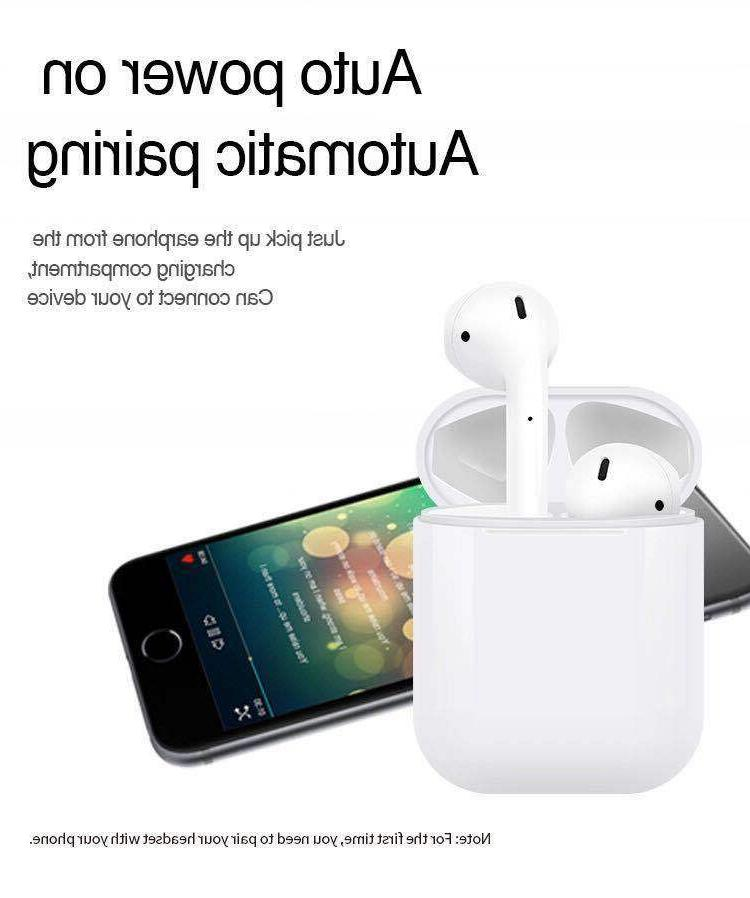 i12 Earbuds Bluetooth For iPhone