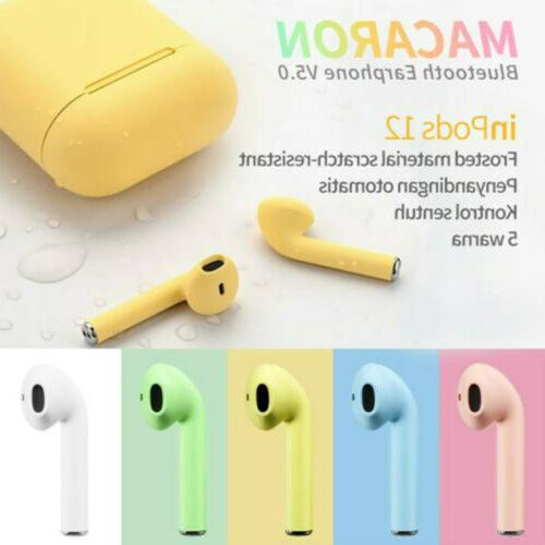 i12 5.0 Earbuds Wireless For iPhone or Android