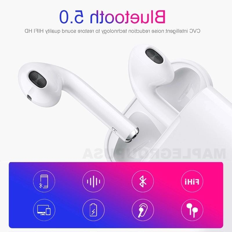 i12 Bluetooth Earphones Wireless For iPhone