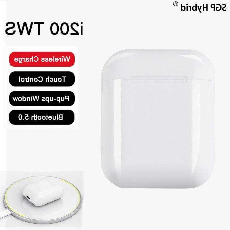 i200 tws wireless charging touch smart pop