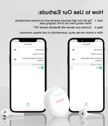 i51 TWS Bluetooth For ios Android Phone
