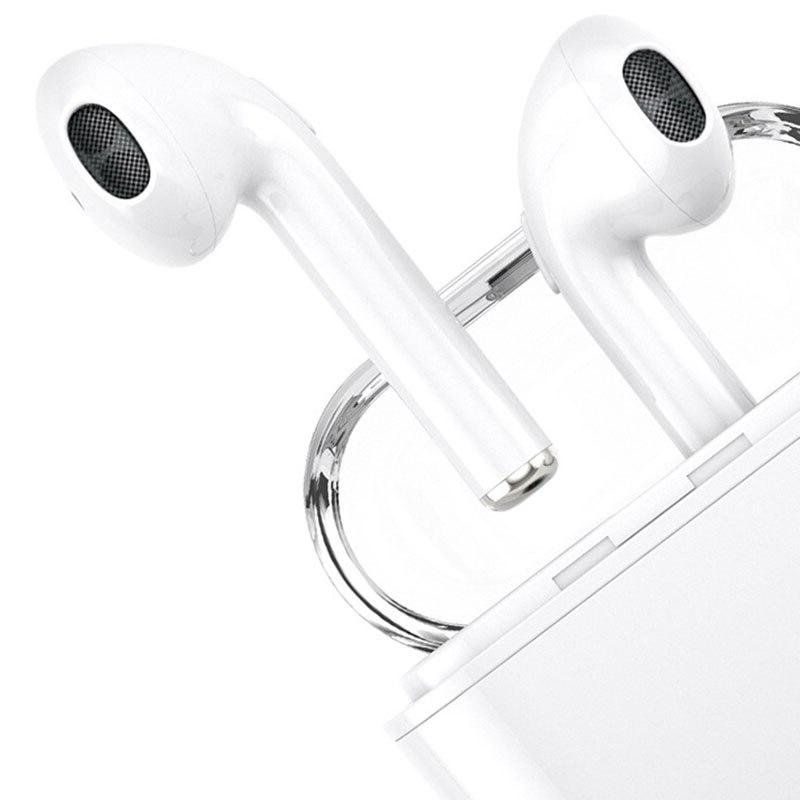 i7s Tws Sport Handsfree Earphone Headphone With Charging for iPhone <font><b>Earbuds</b></font>