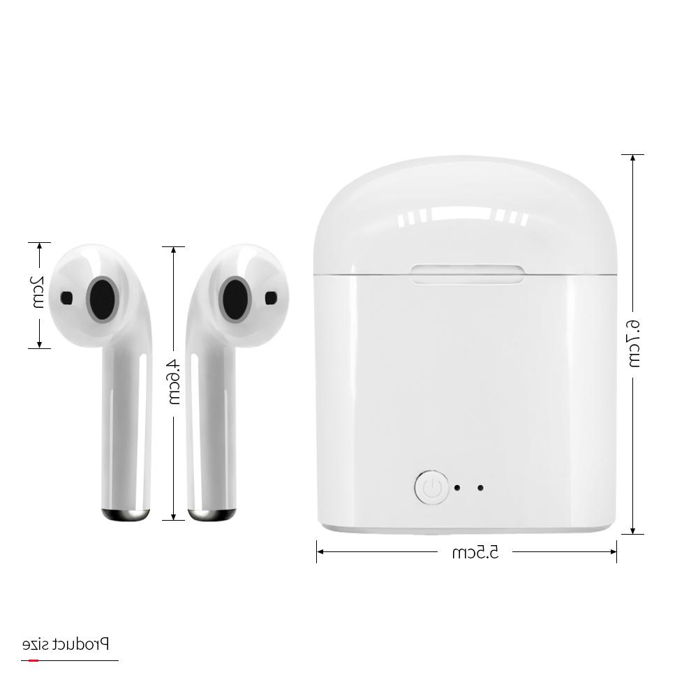 I7s TWS Stereo <font><b>Earbud</b></font> with charging wireless headset