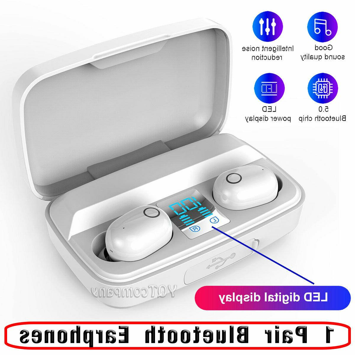 Wireless Bluetooth Earphone Earbuds Headsets Stereo