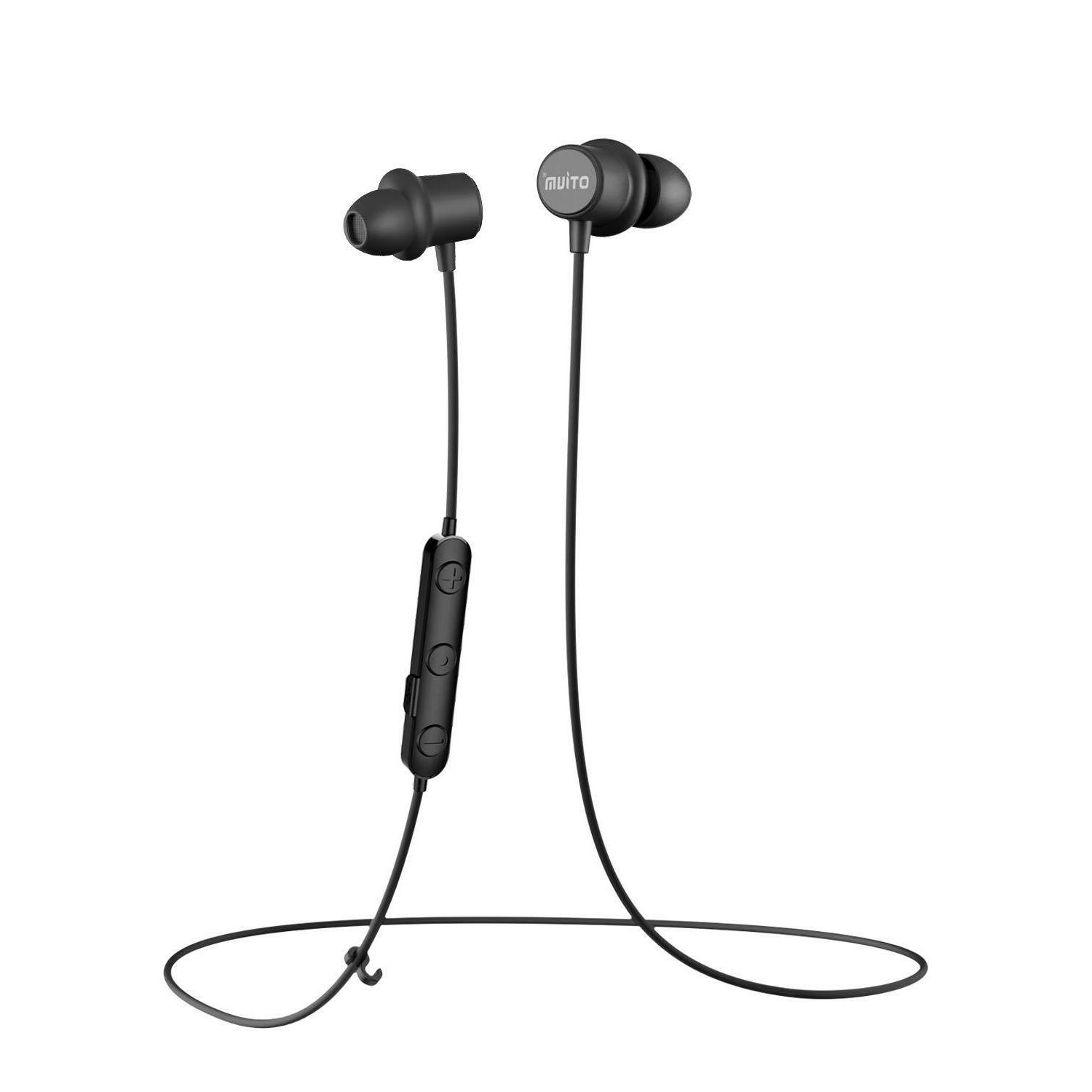 m10 magnetic wireless bluetooth noise cancelling earbuds