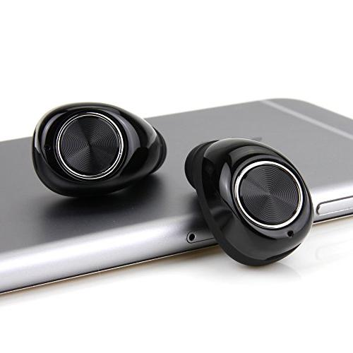 Mini Bluetooth Earbuds Mini TWS True Wireless Earbuds Headset Stereo In-Ear Earpiece