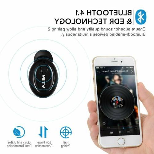 MPOW Mini Bluetooth In-Ear Headphone Earbud