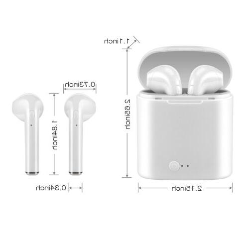Mini Dual Earphone IOS Phone US