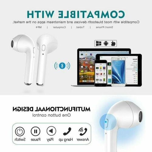 Mini Headset Stereo Earphones