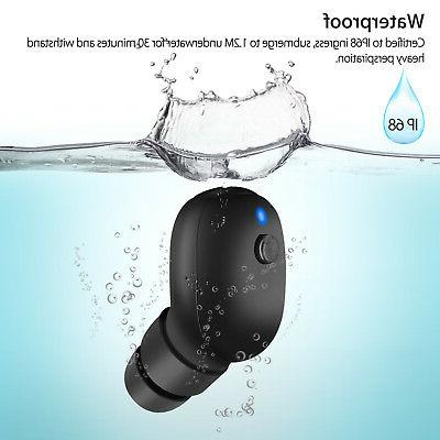 Mini Stereo Waterproof Headset In-Ear Earphone