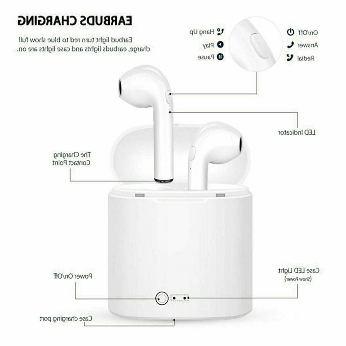 NEW 2019* Dual Bluetooth Earbuds Case For IOS