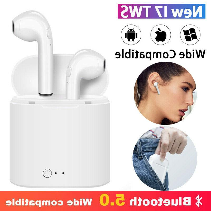 NEW 5.0 Wireless Earbuds iPhone Android