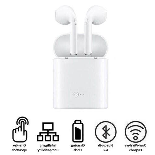 New Apple AirPod Bluetooth Earbuds For Hands Free Audio/phone