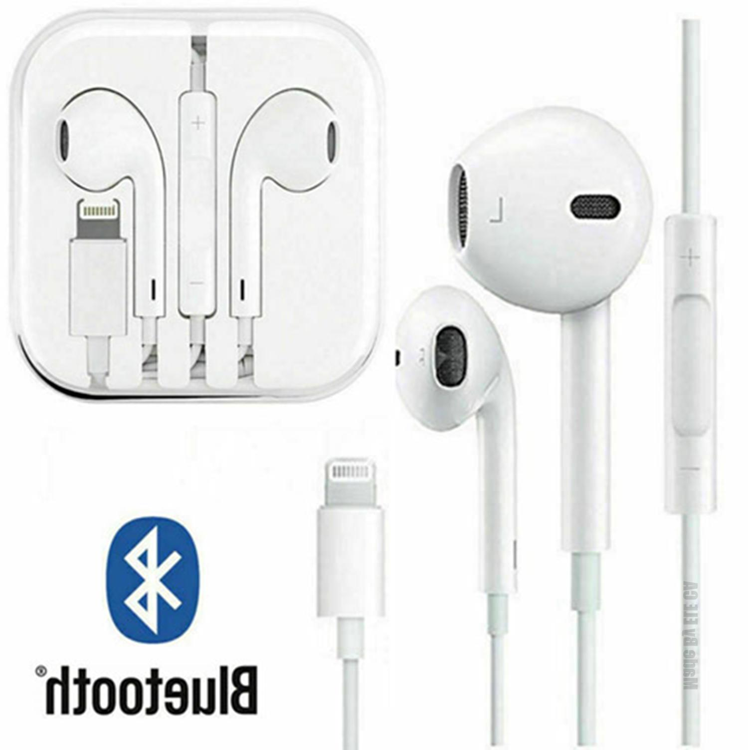 New For Apple iPhone 7 8 Plus X XS MAX XR Wired Headphones H