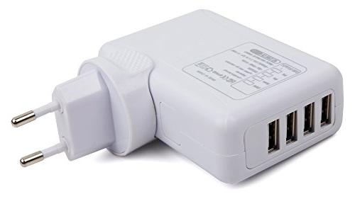 Quad-Port USB Travel with Mains Wall Adapter with the Philips Bluetooth | Everlite SHB4805 Philips SHB3075
