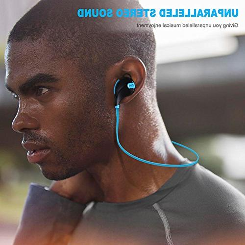 CHATREEY QY7S Sports Wireless Headphones with MIC for Smartphones