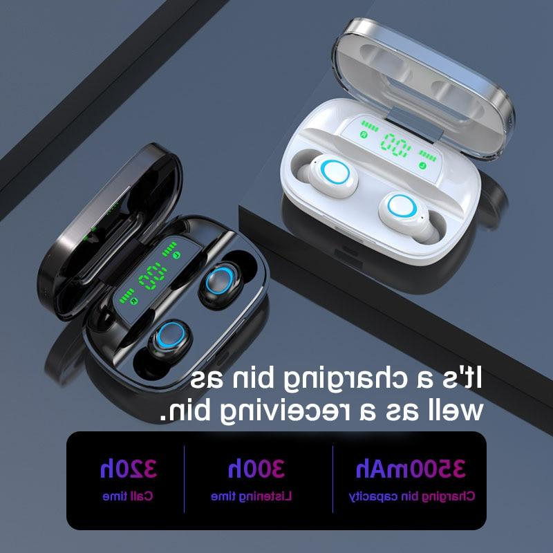 S11 3500mAh Power Bank Earphones In TWS Gaming Headset Noise <font><b>Earbuds</b></font> with <font><b>Mic</b></font> IPhone