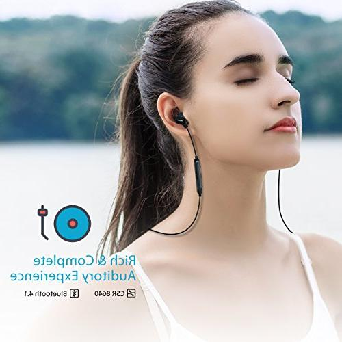 Mpow S3 Headphones, Earbuds Running Noise Fit for Gym Workout