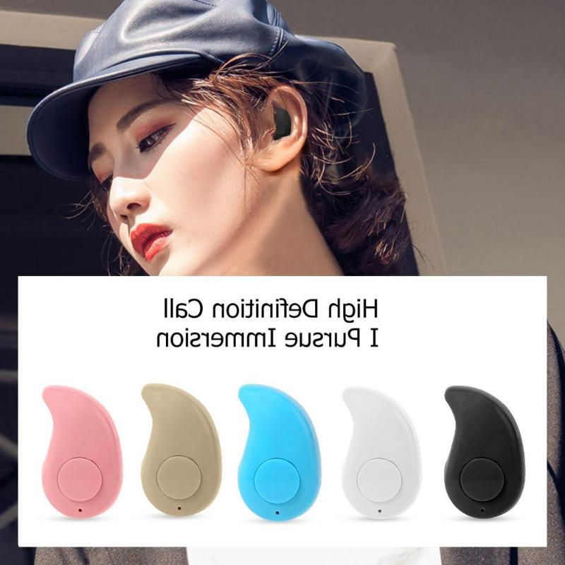 S530 <font><b>Bluetooth</b></font> Earphone Wireless Headphone with Invisible Headsets
