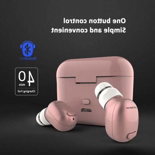 NENRENT S570 TWS Bluetooth Earbud Smallest Mini Wireless Blu