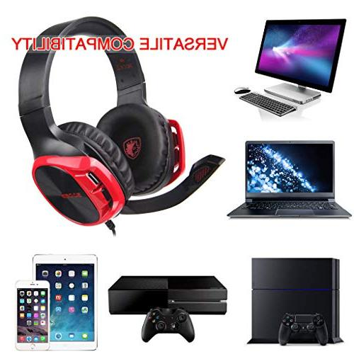 JP-DPP9 R17 Gaming Headset Headphone with Microphone For/PC/PS4/Xbox One
