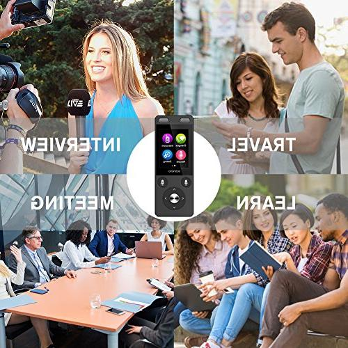 Smart Translator WiFi&4G 2.4 inch IPS Capacitive Touch Screen, Two Way Instant Voice Translator Recorder 72 Travel Shopping