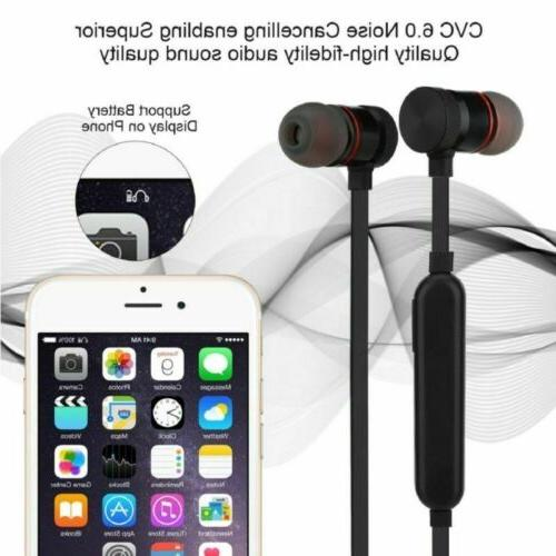 Sweatproof Bluetooth Earbuds Sports Wireless Headphones Earphones