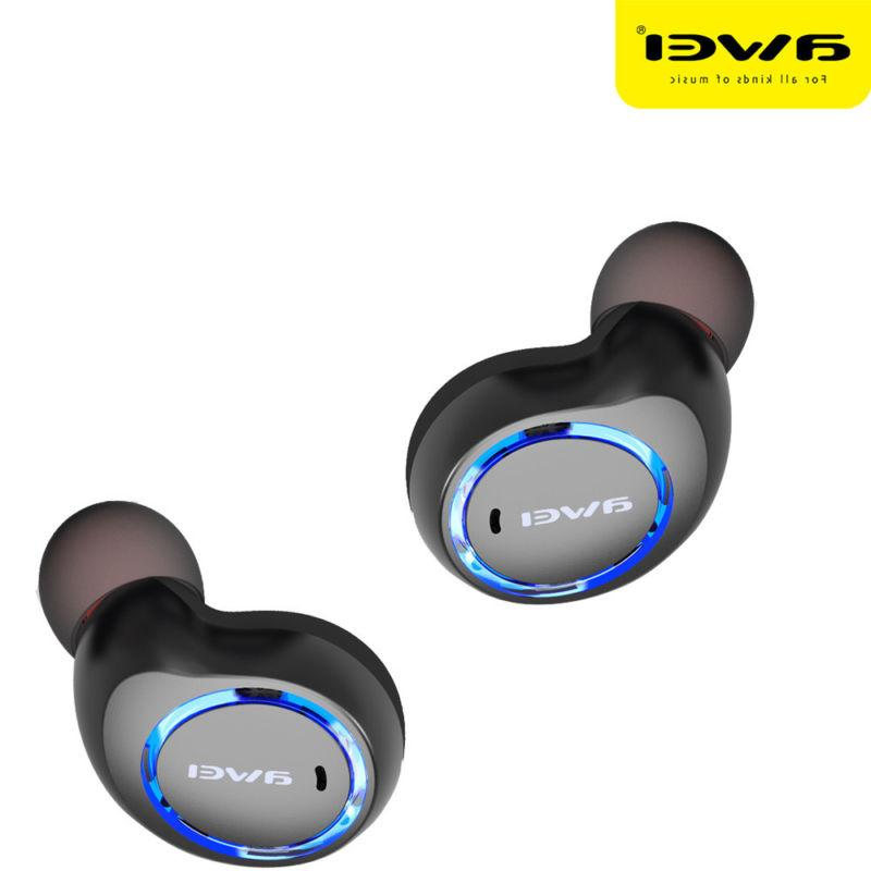 AWEI Earbuds Bluetooth With Charging US