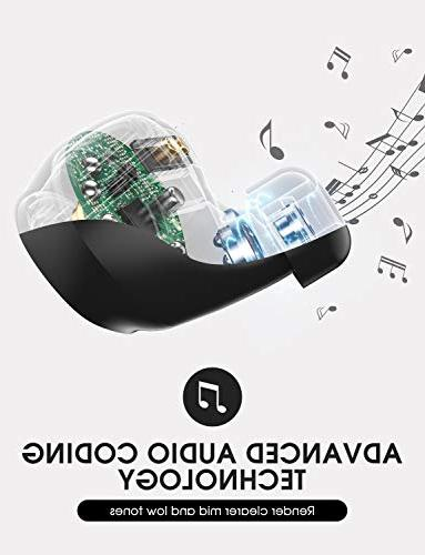 Mpow Earbuds, Bluetooth with Mic, for Andriod iPad, Laptop