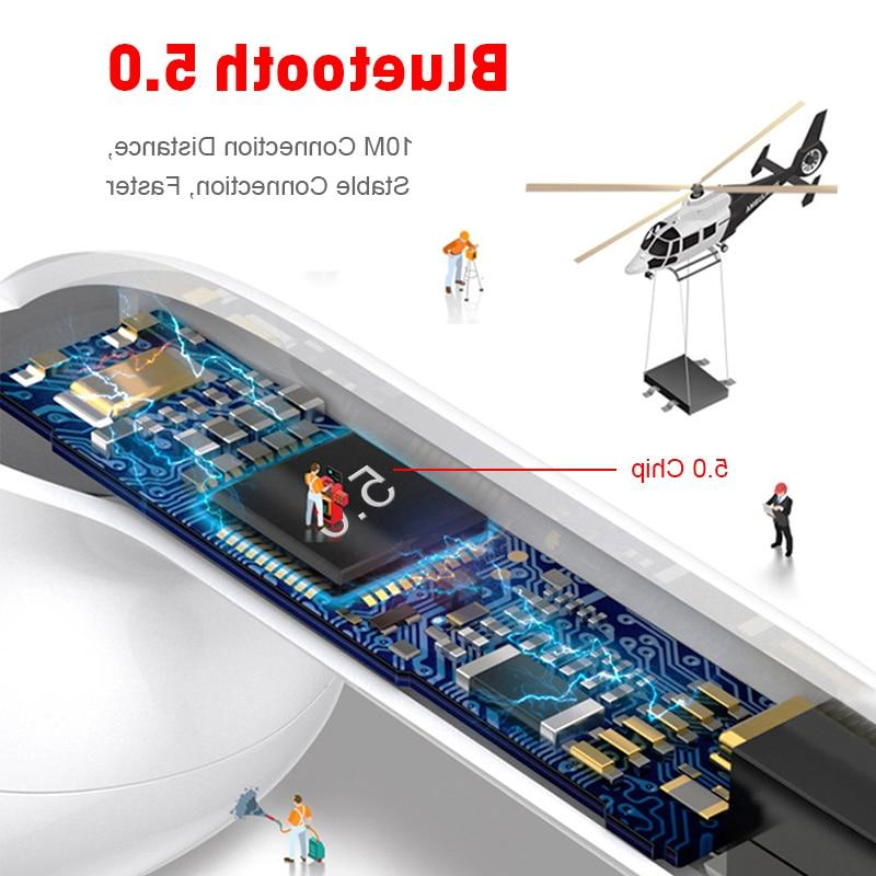 TWS Earphones Touch Control Bluetooth 5.0 Headphones Headsets For Smart
