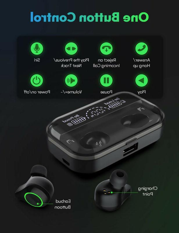 TWS Earbuds 5.0 Headset With