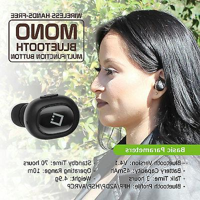 Ultra Compact mono Bluetooth earbud Cellet